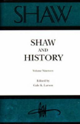Annual of Bernard Shaw Studies Vol 19 (Hardback)