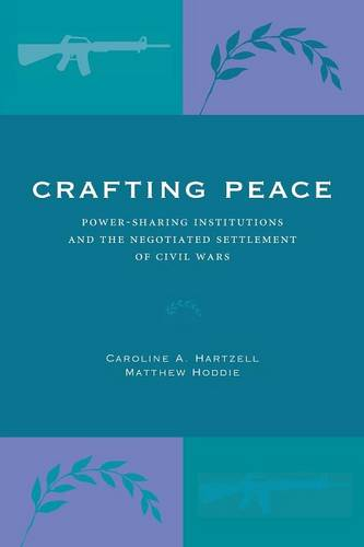 Crafting Peace: Power-Sharing Institutions and the Negotiated Settlement of Civil Wars (Paperback)