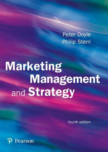 Marketing Management and Strategy (Paperback)