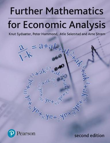 Further Mathematics for Economic Analysis (Paperback)