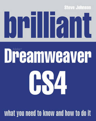 Brilliant Dreamweaver CS4 (Paperback)