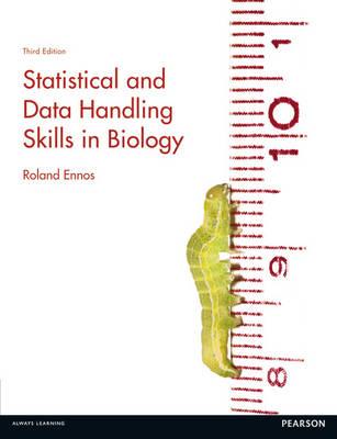 Statistical and Data Handling Skills in Biology (Paperback)