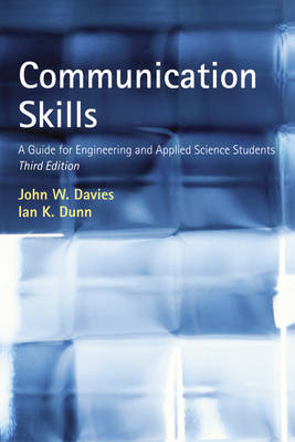 Communication Skills: A Guide for Engineering and Applied Science Students (Paperback)