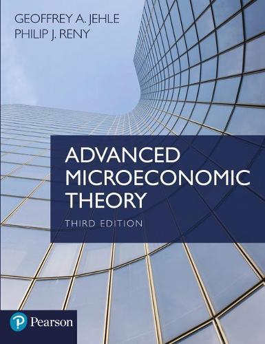 Advanced Microeconomic Theory (Paperback)