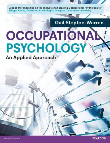Occupational Psychology: An Applied Approach (Paperback)