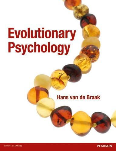 Evolutionary Psychology (Paperback)