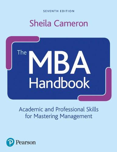 mba handbook Sheila cameron has 16 books on goodreads with 150 ratings sheila cameron's most popular book is business student's handbook, 5th edition  the mba handbook.