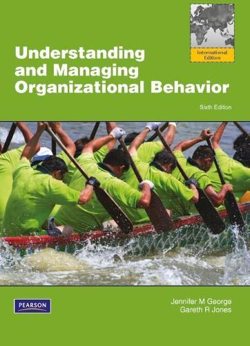 Understanding and Managing Organizational Behavior: Global Edition (Paperback)