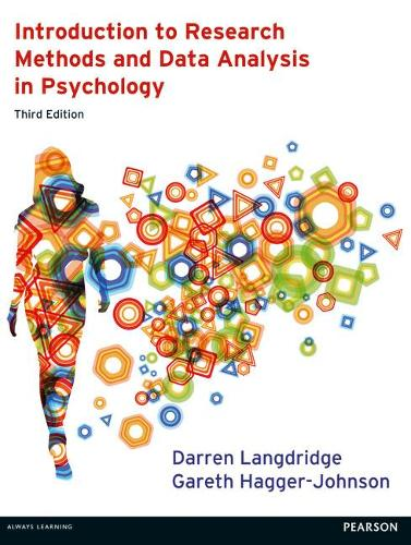 Introduction to Research Methods and Data Analysis in Psychology 3rd edn (Paperback)