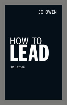 How to Lead (Paperback)