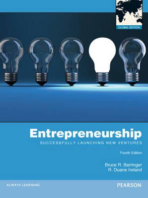 Entrepreneurship: Successfully Launching New Ventures (Paperback)