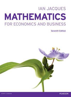 Mathematics for Economics and Business (Paperback)