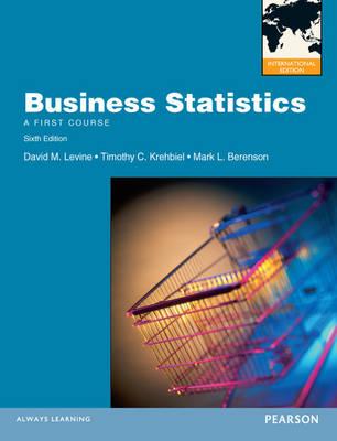 Business Statistics with MyMathLab Global