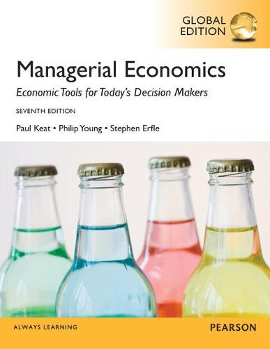 Managerial Economics, Global Edition (Paperback)