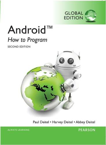 Android: How to Program, Global Edition