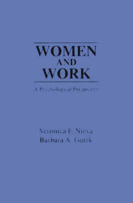 Women and Work: A Psychological Perspective (Paperback)
