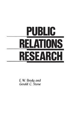 Public Relations Research (Paperback)