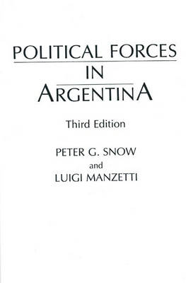 Political Forces in Argentina, 3rd Edition (Paperback)