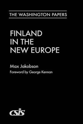 Finland in the New Europe (Hardback)