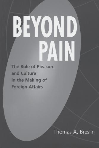 Beyond Pain: The Role of Pleasure and Culture in the Making of Foreign Affairs (Paperback)