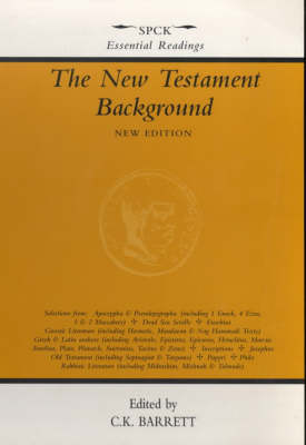 The New Testament Background: Selected Documents (Paperback)