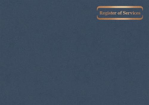 Service Register: Landscape (Hardback)