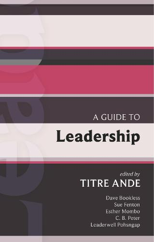 A Guide to Leadership - International Study Guide (ISG) No. 43 (Paperback)