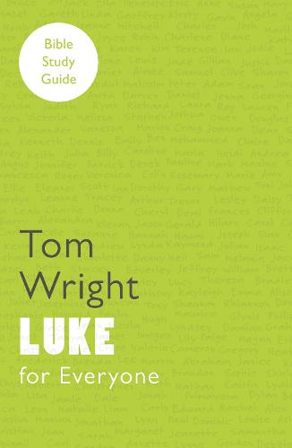 For Everyone Bible Study Guides: Luke (Paperback)