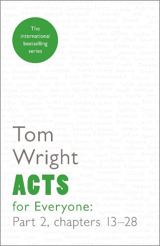 Acts for Everyone: Chapters 13-28 Part 2 (Paperback)