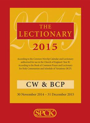 The Lectionary 2015: Common Worship and Book of Common Prayer (Paperback)