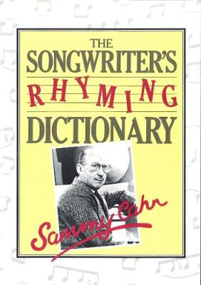 Songwriter's Rhyming Dictionary (Paperback)