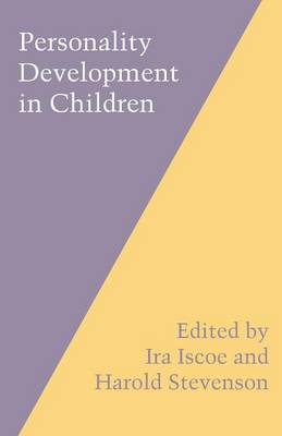 Personality Development in Children (Paperback)