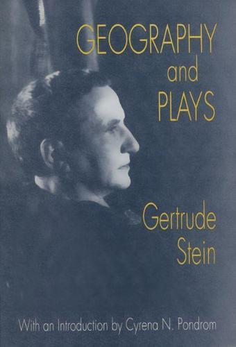 Geography and Plays (Paperback)