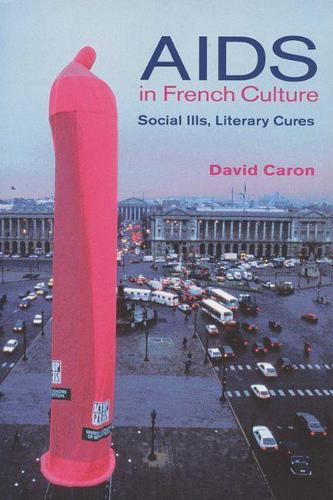 AIDS in French Culture: Social Ills, Literary Cures (Paperback)