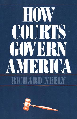 How Courts Govern America (Paperback)
