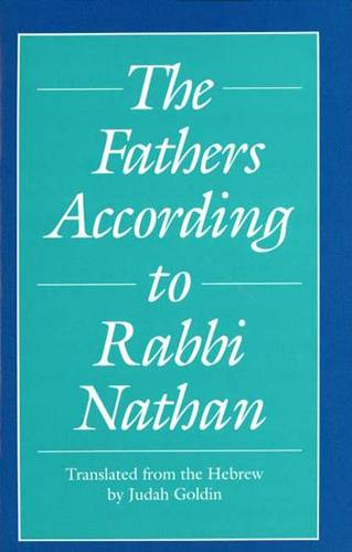 The Fathers According to Rabbi Nathan (Paperback)