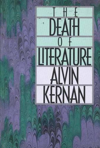 The Death of Literature (Paperback)