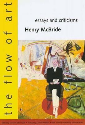 Flow of Art: Essays and Criticisms (Hardback)