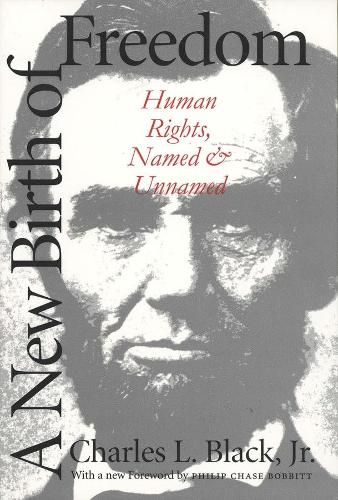 A New Birth of Freedom: Human Rights, Named and Unnamed (Paperback)