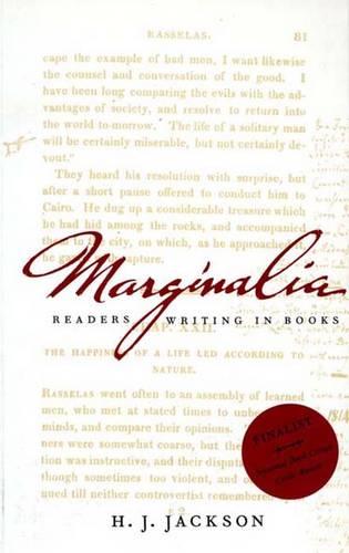 Marginalia: Readers Writing in Books (Paperback)