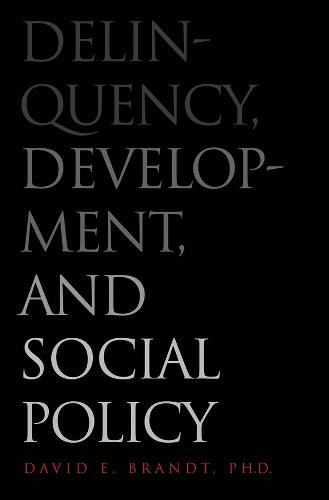 Delinquency, Development, and Social Policy - Current Perspectives in Psychology (Hardback)