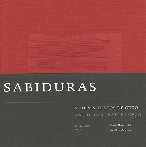 Sabiduras and Other Texts by Gego (Hardback)