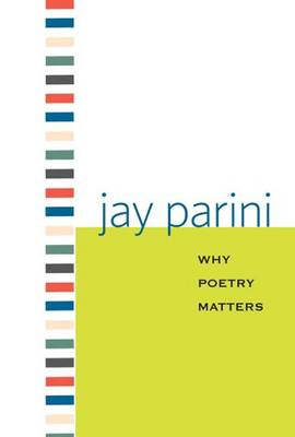Why Poetry Matters - Why X Matters Series (Hardback)
