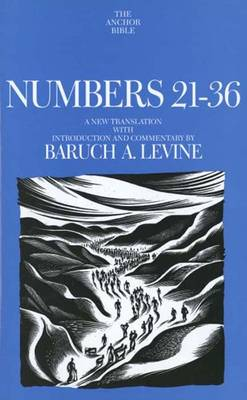 Numbers 21-36 - The Anchor Yale Bible Commentaries (Hardback)