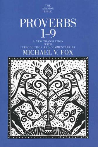 Proverbs 1-9 - The Anchor Yale Bible Commentaries (Paperback)