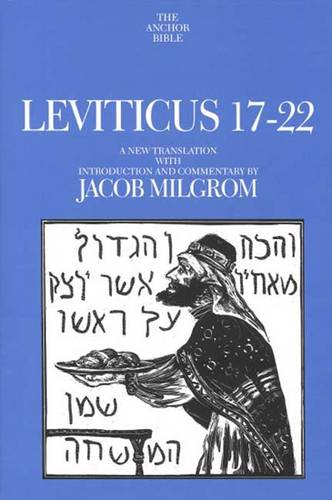 Leviticus 17-22 - The Anchor Yale Bible Commentaries (Hardback)