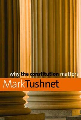 Why the Constitution Matters - Why X Matters Series (Hardback)