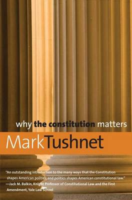 Why the Constitution Matters - Why X Matters S. (Paperback)