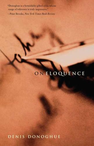 On Eloquence (Paperback)