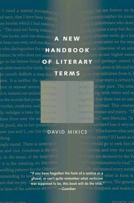 A New Handbook of Literary Terms (Paperback)